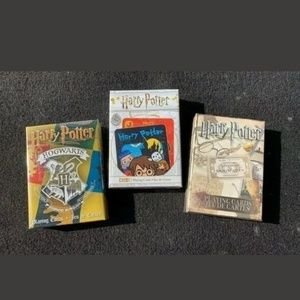 POTTER PLAYING CARDS (LOT OF 3